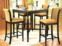 small round dining table and chairs for 4 set
