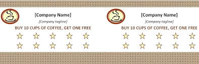 Free Punch Cards Template Ms Word Birthday Card Template How To Make Cards With Office