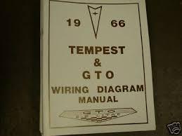 1966 66 pontiac gto tempest lemans body repair manual 29 95 1966 pontiac gto tempest lemans wiring manual