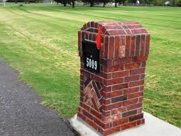 unique residential mailboxes. Image Of: Custom Brick Mailboxes Residential Unique