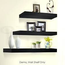 Large Size of Shelves:awesome Black Floating Wall Shelves Home Storage Diy