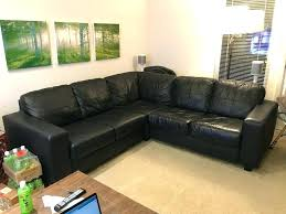 ikea leather couch used faux leather couch for in ikea leather sofa repair kit