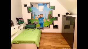Cool Minecraft Bedroom Theme Ideas Youtube