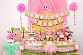 Pink Owl Baby Shower Decorations owl ba shower ideas for girl aesh home  wallpaper