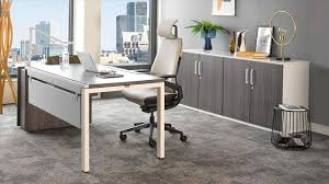 Computer Desk And Chair Furniture Best Choice For Your Office By Using Conklin Office
