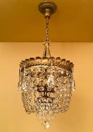 Weiss Biheller Lighting Vintage Lighting 1920s Crystal Chandelier Extraordinary