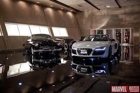 Iron Man Office Tony Starku0027s Audi R8 V10 Spyder From Marvel