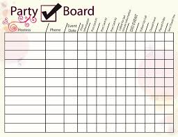 Hostess Sales Chart Party Hostess Chart Direct Sales Direct Sales Party