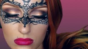 easy masquerade makeup mask tutorial creative make up 2016 you