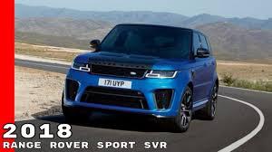 2018 land rover sport svr. Wonderful 2018 2018 Range Rover Sport SVR On Land Rover Sport Svr