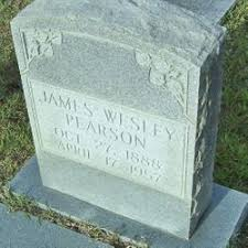 James Wesley Pearson (1888-1957) - Find A Grave Memorial