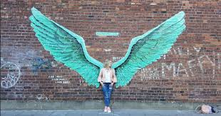 the best selfies so far with the baltic triangle liver bird wings liverpool echo