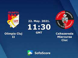 Olimpia Cluj II Csikszereda Miercurea Ciuc live score, video stream and H2H  results - SofaScore