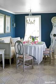 Blue dining room furniture Turquoise House Beautiful 18 Best Dining Room Paint Colors Modern Color Schemes For Dining Rooms
