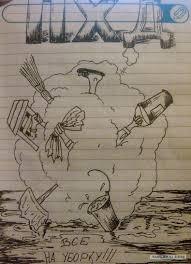 армейский рисунок яплакалъ