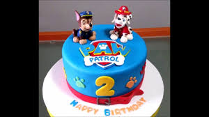 Baby Boy 2nd Birthday Cake Youtube