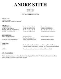doc 580680 singer resume sample musician resume samples musician musician resume template smlf sample format sample acting resume