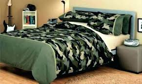 Camouflage Bed Set King Realtree Camo Sets Military Queen Size ...