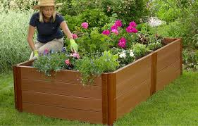 garden bed kit. Composite Raised Garden Bed - 4\u0027 X 8\u0027 22\ Kit