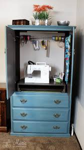 Convert Cabinet To File Drawer Compact Armoire Sewing Closet