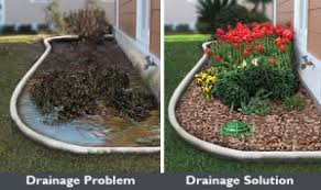 french drain cost. Interesting Drain Ponding Water Is Easily Removed From Landscape With A Repaired Channel And French  Drainage System In For French Drain Cost N