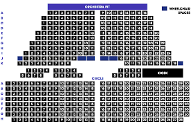 Sunderland Empire Seating Chart Seating Plan Middlesbrough Theatre