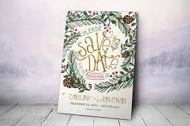 Winter Wedding Save The Date 12 Winter Wedding Ideas