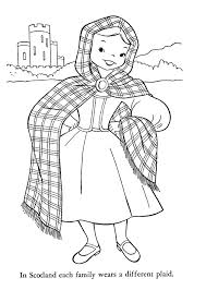 Ireland Coloring Pages Irish Harp Coloring Page Free Printable ...