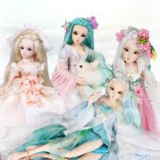 dq doll 45cm bjd dolls princess new arrival sd dolls with outfit elegant dress wigs shose hat makeup and handset visual novel games free novels games from