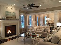 cozy living room with fireplace. Room Cozy Coastal Living Fireplace Perfect Decor With E