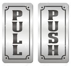 pull door sign. Simple Pull Push And Pull Door Signs Stock Vector  20230721 In Pull Door Sign M