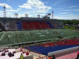 Mcmahon Stadium Section W Home Of Calgary Stampeders