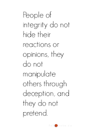 Integrity Quotes Magnificent People Of Integrity Quote