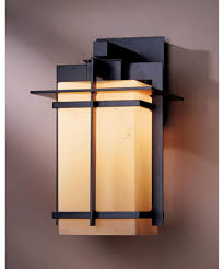 hubbardton forge  tourou  inch wide  light outdoor wall