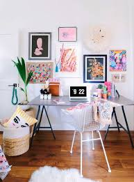 colorful home office. Colorful Home Office Inspiration