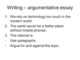 technology technology vocabulary look at the machine and write  writing argumentative essay 1 we rely on technology too much in the modern world