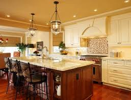 Kitchen with Pendant Lighting Over island Best Of