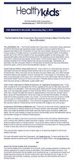 Cfo Press Release 5 1 2019 Cfo Jimmy Patronis Florida