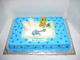 Cake Design Baby Boy