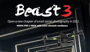 ZLRC <b>SG906</b> PRO 3 <b>MAX</b> aka <b>Beast 3</b> | Laser, Obstacles, Foldable ...
