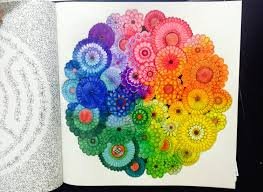 Cooloring Book Excelent Secret Garden Coloring Colored By Johanna