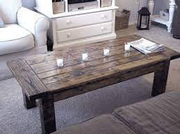 Build a modern coffee table using the free woodworking plans available at the link. 101 Simple Free Diy Coffee Table Plans