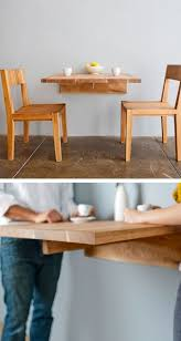 Folding Kitchen Table Best 25 Wall Mounted Dining Table Ideas On Pinterest