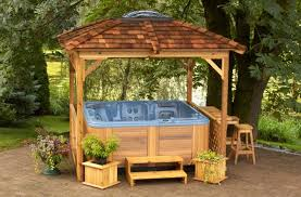 excellent 22 gazebos for hot tubs uk type