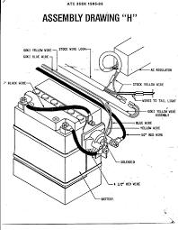 Kawasakiou wiring diagram on kawasaki bayou 220