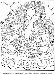 Small Picture Print coloring pages and drawings to paint Princess Leonora