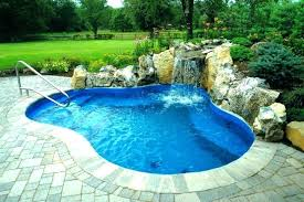 in ground pools with waterfalls. Inground Pool With Waterfall Pools Waterfalls Slides For Swimming Kit In Ground H