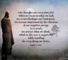 Negative Energy Quotes Inspiration The Power Of Negative Thinking Picture Quote Randi G Fine
