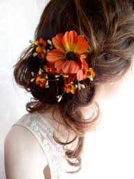 Flower Hair Style incredibly wedding hairstyles wedding ideas for you 5871 by wearticles.com