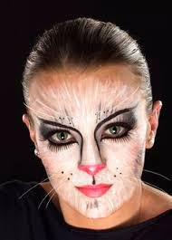 painted face cat another exle of a cat face for k this